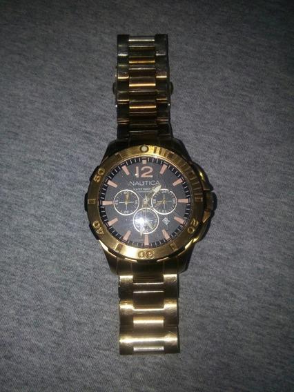 Relógio Da Náutica Dourado