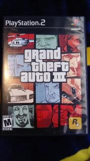 Grand Theft Auto 3 Gta 3 Para Ps2