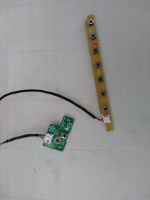 Teclado De Funções E Sensor C Remoto Tv Aoc D26w931 Usada