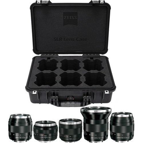 Zeiss Ze Slr Kit Lentes 21mm 28mm 35mm 50mm 85mm Canon Ef