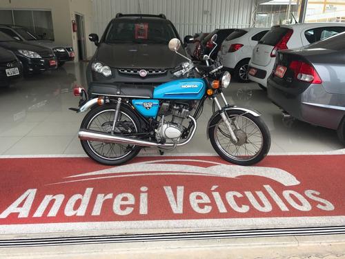Honda Cg 125 Apenas 201 Km Original Relíquia 1982