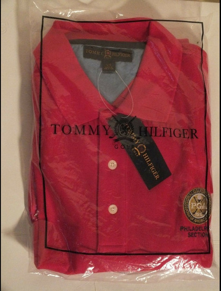 Polo Tommy Hilfiger Pga Philadelphia Section 100% Cotton