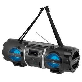 Som Portátil Philco De 200w, Bluetooth V2.1 + Edr, Usb E Aux