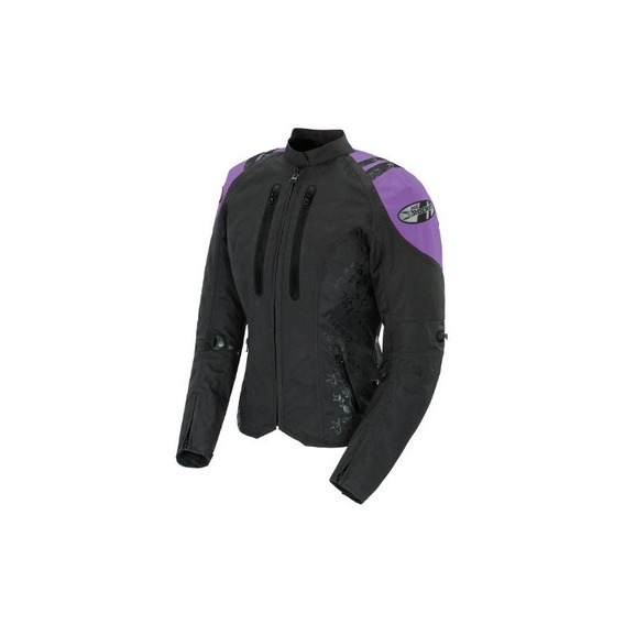 Joe Rocket Atomic 4.0 Womens Textile Riding Jacket (negro /
