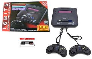 Consola Sega Genesis Alien Juegos 2 Joystick Palermo Z Norte