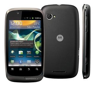 Motorola Spice Xt531 - Só Funciona Vivo Wi-fi 3g De Vitrine