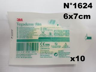 Tegaderm 6x7cm 1624w X 10 - Parches Hipoalergenicos