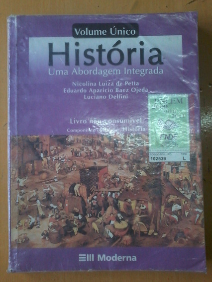 História Volume Único - Nicolina Luiza De Petta