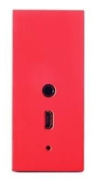 Caixa De Som Portátil Jbl Go Wireless - Vermelha