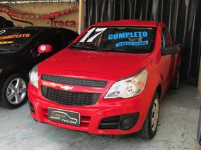 Chevrolet Montana 1.4 Ls Cs 8v Flex 2p 2017 Completa