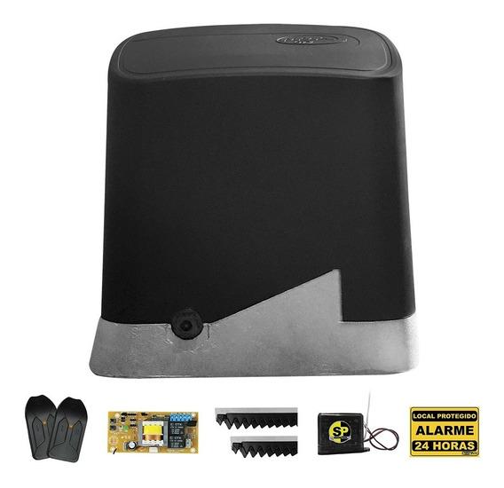 Kit Motor Portão Eletrônico Deslizante Ppa 1/4 Hp + Tx Car