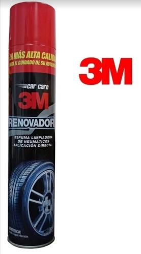 Imagen 1 de 3 de Renovador De Neumáticos En Aerosol 3m - Carcareshop