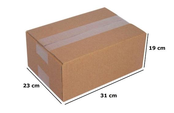 Caixa De Papelão Correios Transportadora 19x31x23 C/ 100unid