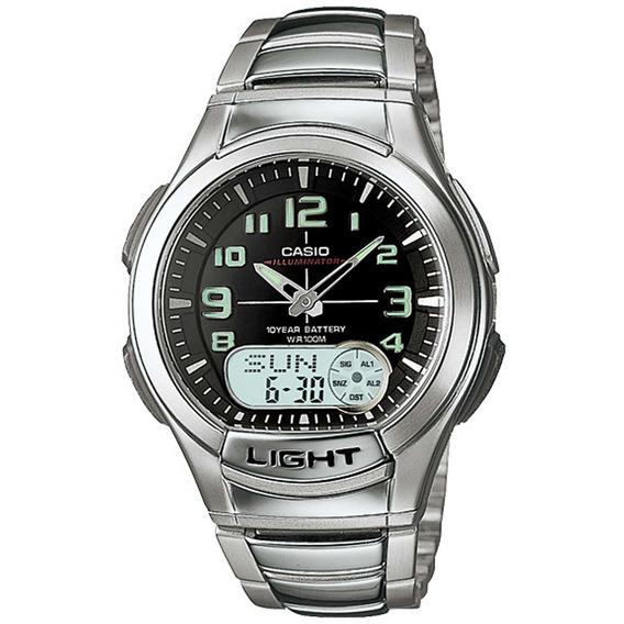 Relógio Casio Original Masculino Illuminator Aq-180wd-1bvdf