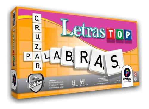 Juego De Mesa Letras Top Plastigal 151 By Creciendo