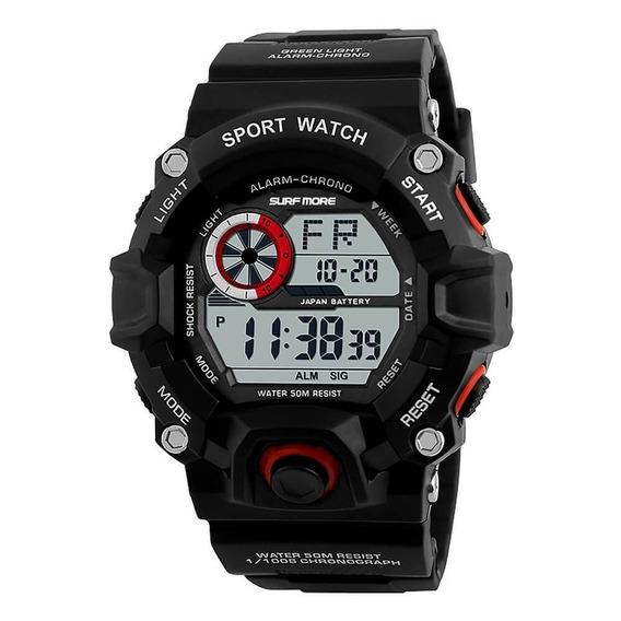 Relógio Masculino Surf More Digital Garantia E Nf 20019491m