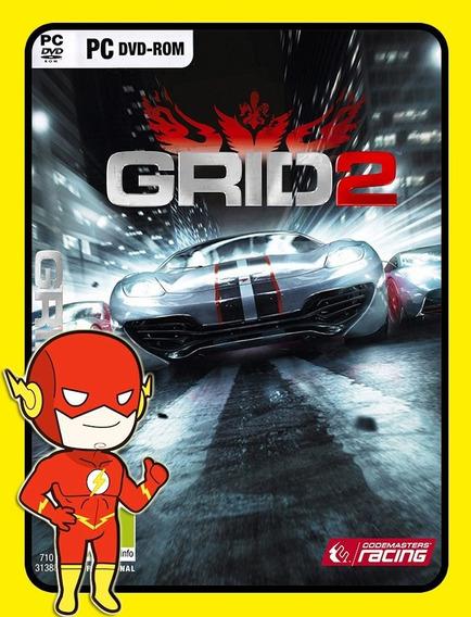 Grid 2 Reloaded Edition Pc - Steam Key (envio Flash)