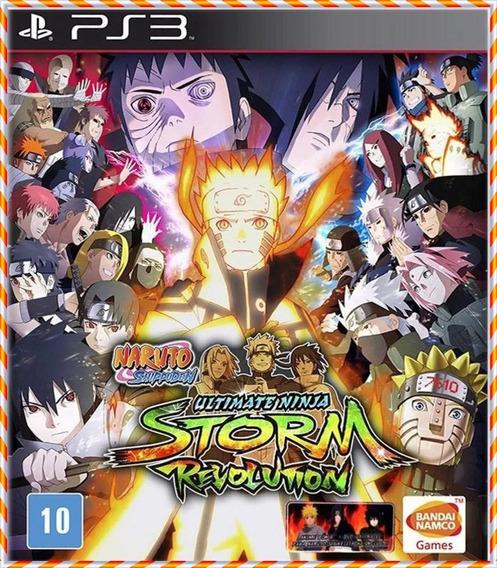 Naruto Shippuden Storm Revolution Psn Ps3 Legendado Pt Br