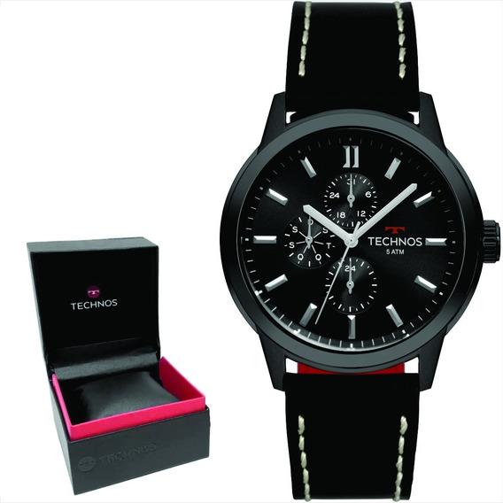 Relógio Technos Masculino Grandtech Original Nf 6p27dr/2p