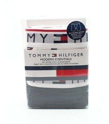 Tommy Hilfiger Hombres 2 Pack Logotipo Cintura Blanco T-4908