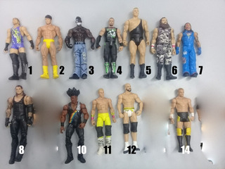 Luchadores Wwe. Mattel. 17 Cm. Varios Personajes. Leer Desc!