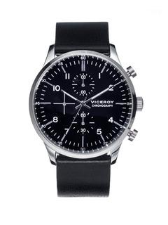 Reloj Hombre Viceroy 432291-54 Cronografo Wr 50m Acero Inox