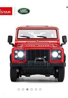 Carro A Control Remoto Rastar Land Rover Defendr Escala 1/14