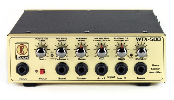 Eden Wtx500 Cabezal Para Bajo 500 Watts