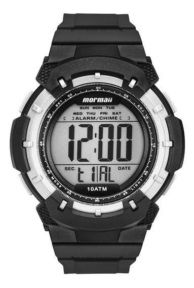 Relógio Mormaii Masculino Digital Surf Esportivo Preto