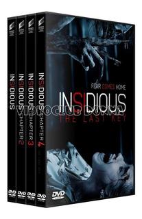 Insidious La Noche Del Demonio 4 Dvd Colección Saga Completa