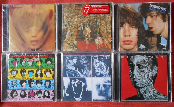 Lote Cd Rolling Stones Goats Rock Black Emotional Some Tatoo