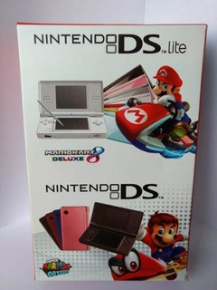 Nintendo Ds Lite + Cargador + 200 Juegos- Reacondicionado