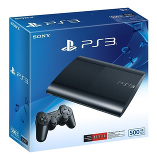 Ps3 Play Station 3 Super Slim 500gb + 40 Juegos Digitales