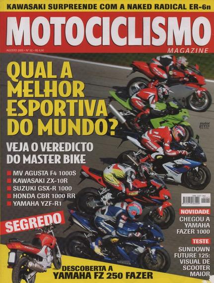 Motociclismo N°92 Sundown Future 125 Zx-10r Gsx-r 1000 Cbr