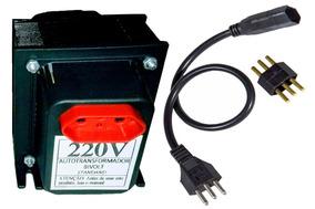 Transformador De Voltagem Autotransformador 750 Va +conector