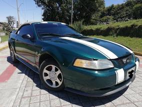 Mustang Lujo V6 Piel Convertible Original
