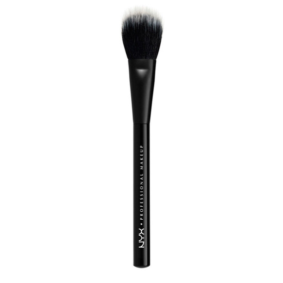 Brochas Maquillaje En Polvo Rostro Dual Fiber Prob Brush Nyx