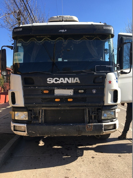 Camion Scania Serie 4 Forestal