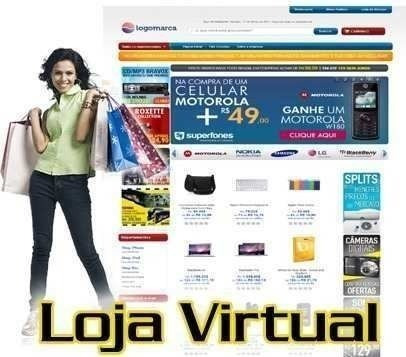 Loja Virtual Completa Script Responsivo E Mobile + 35 Layout