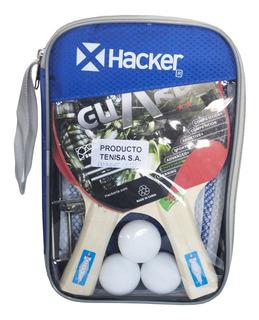 Kit Ping Pong Hacker 2* Guard Pvc Bag (2) *ver Detalle Full