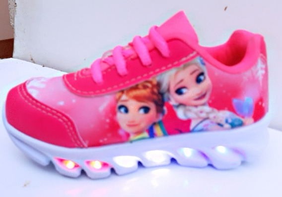 Tenis Tematicos Frozen Super Led