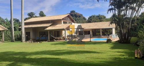 Chácara Com 3 Dormitórios À Venda, 2600 M² Por R$ 1.600.000,00 - Loteamento Chácaras Vale Das Garças - Campinas/sp - Ch0662