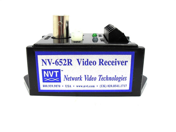 Receptor Sinal Video Ativo Cftv Nvt Nv-652r Cftv Ate 1,6 Km