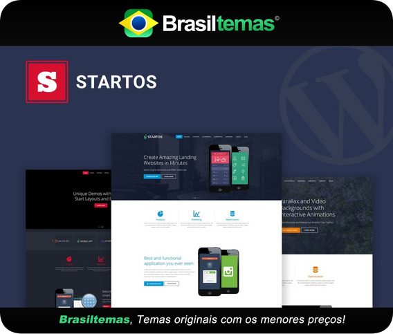 Startos Tema De Wordpress Para Aplicativos - Original