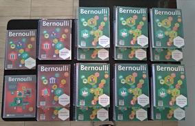 Apostilas Bernoulli 6v Coleção Completa Com Brindes