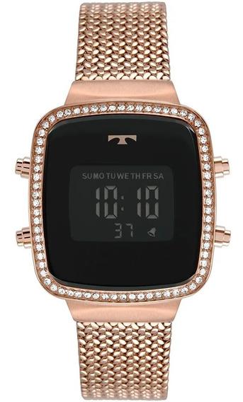 Relógio Feminino Technos Digital Rosê Bj3478ab/4p