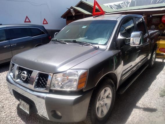 Nissan Titan 2005 Crew Cab Le Piel 4x4 Mt