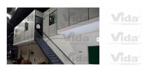 Imagem 1 de 10 de Galpão Para Aluguel, 700.0m² - 35067