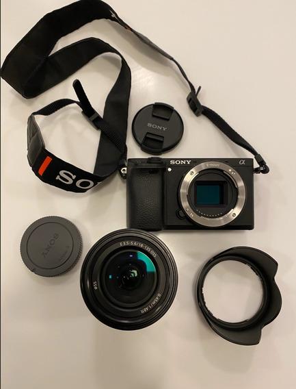 Sony Alpha A6300 Com Lente 18-135mm