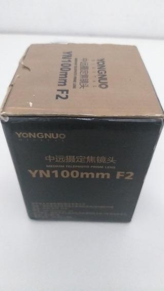 Lente Ppara Canon Yongnuo 100mn 2.0